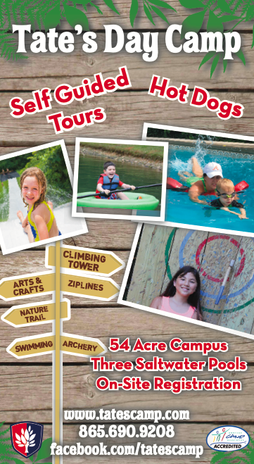 Tate's Camp Open House